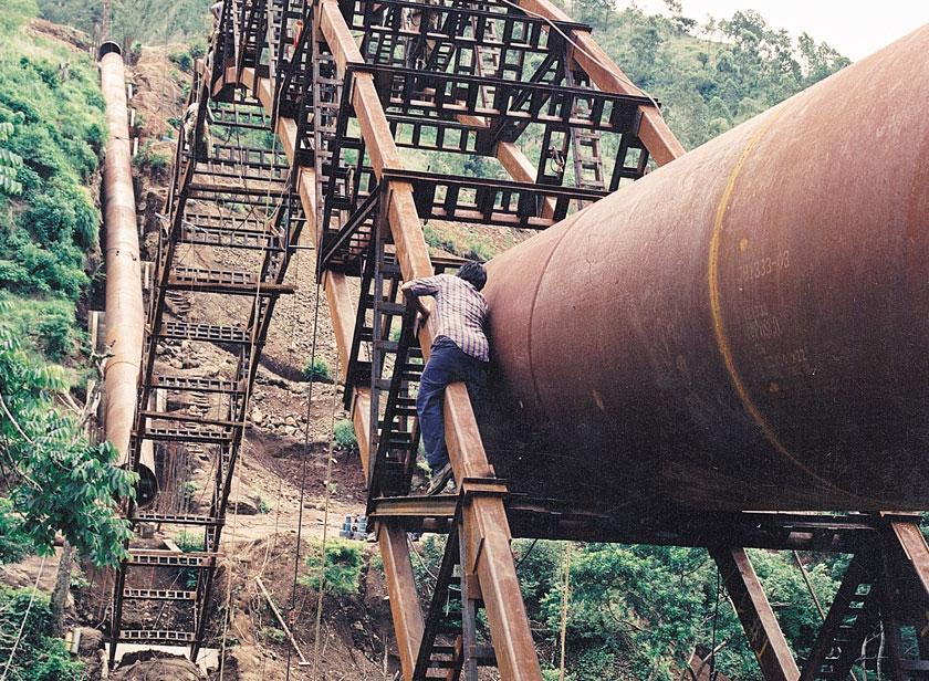 Hidroeléctrica Poza Verde (2000)